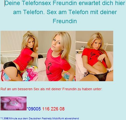 Freundinnen Telefonsex