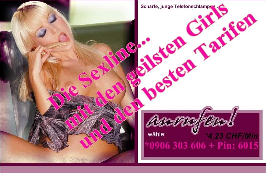 Telefonsex Schweiz